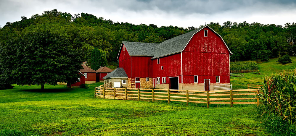 Farm Barn and Country