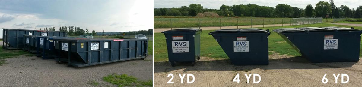 Commercial Dumpsters Compactors